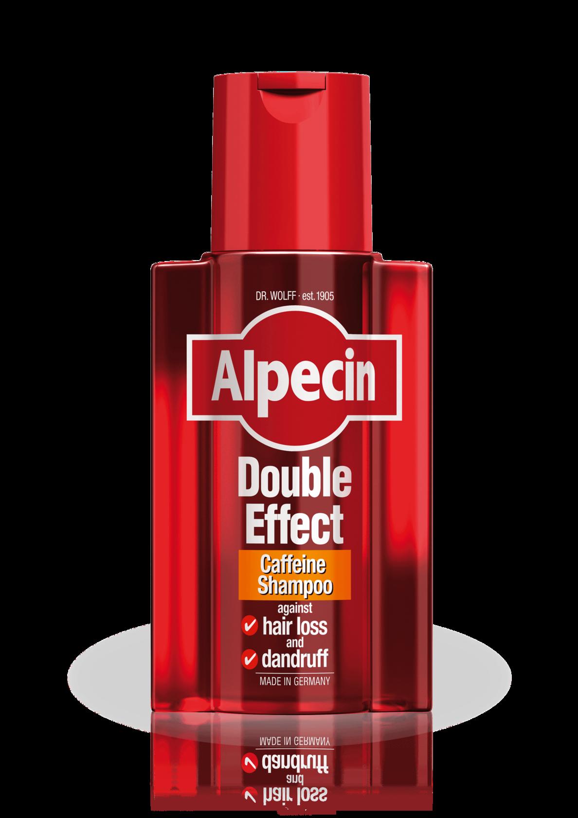 Alpecin Double Effect Caffeine Shampoo against dandruff and hair loss