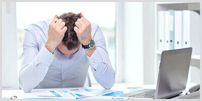 Long-term stress encourages baldness