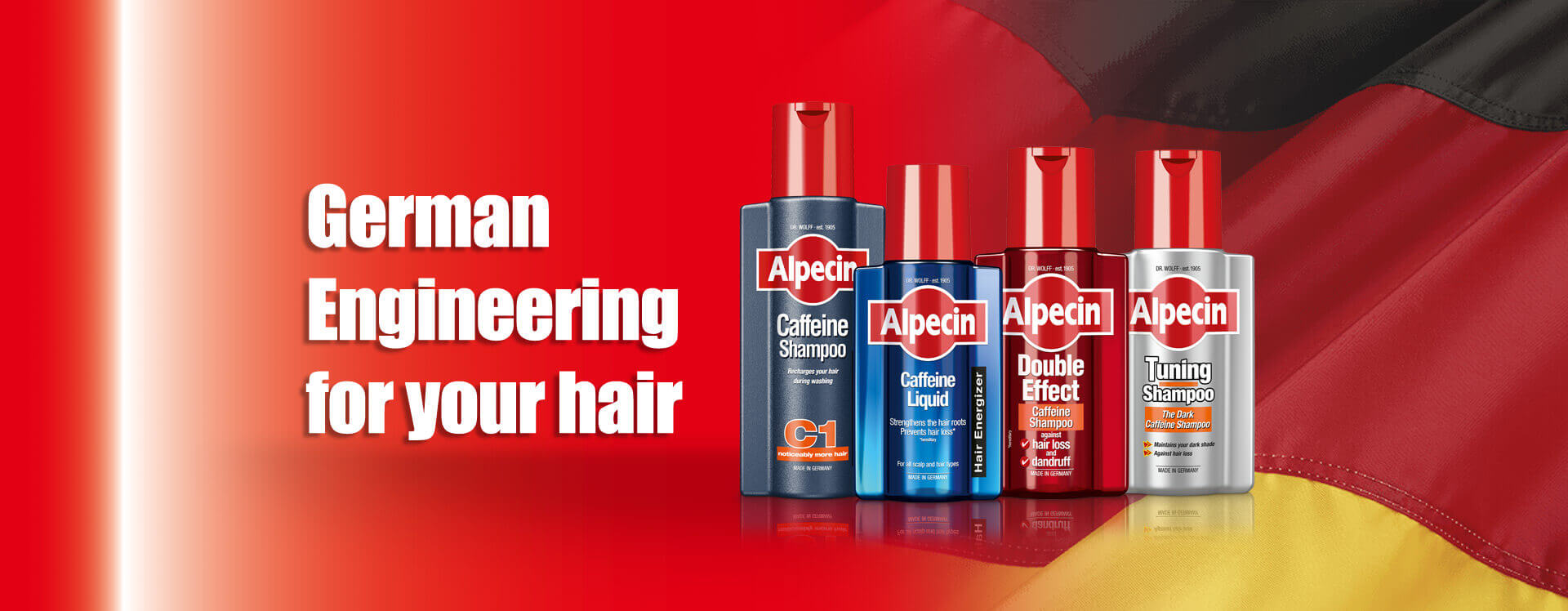 Alpecin | German Engineering for your hair