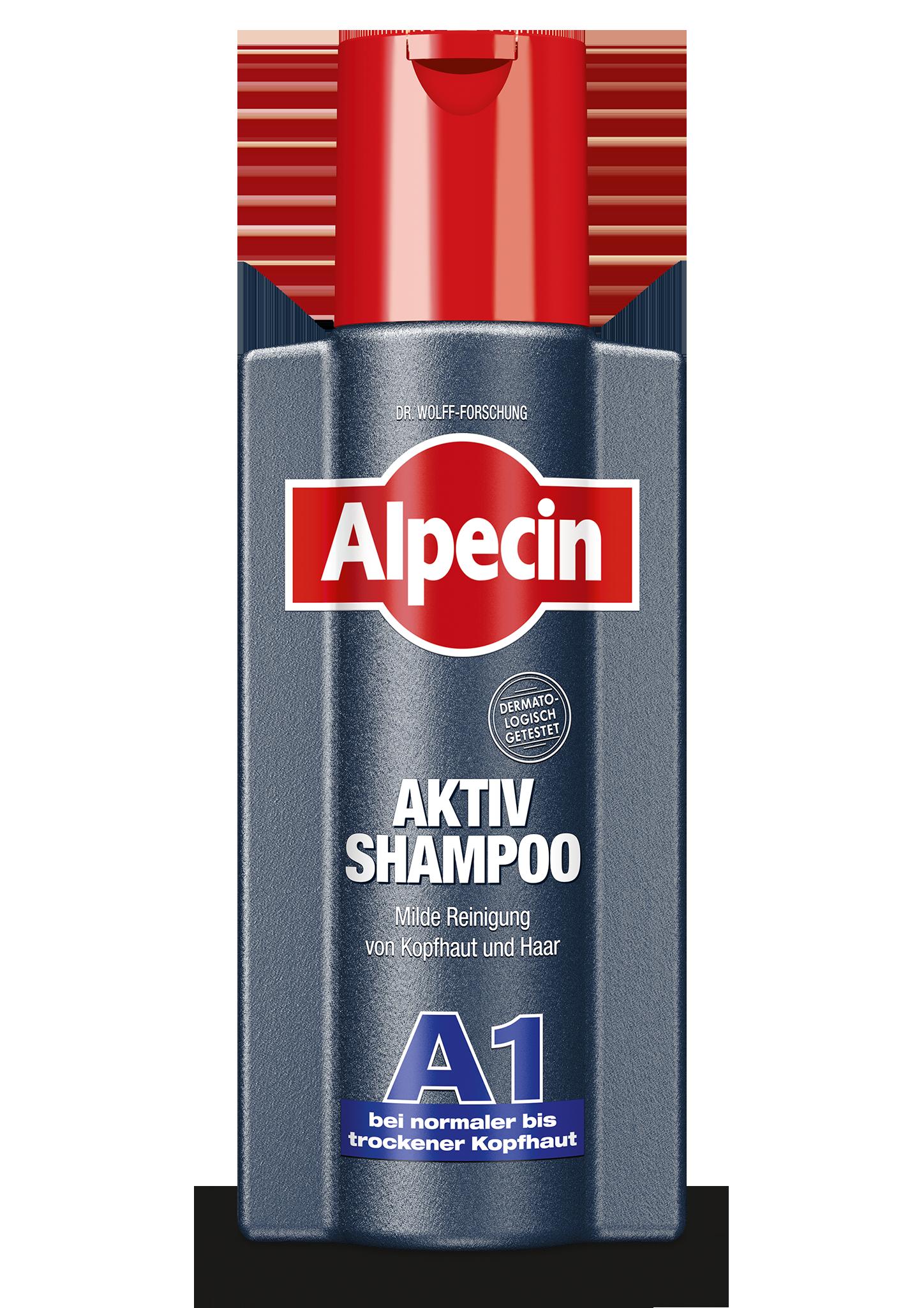 Alpecin Aktiv Shampoo A1 Für Normale Bis Trockene Kopfhaut