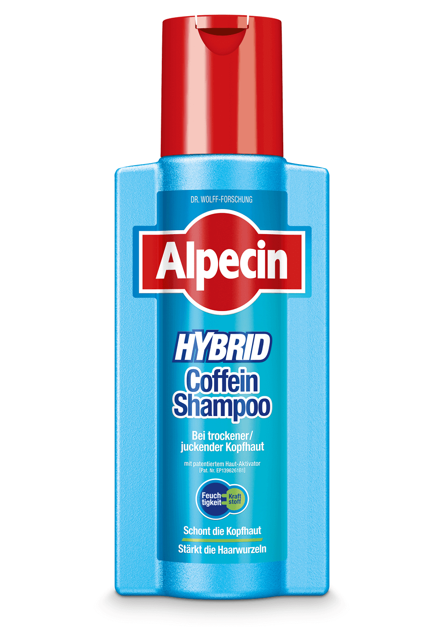 alpecin hybrid coffein shampoo bei juckender kopfhaut. Black Bedroom Furniture Sets. Home Design Ideas