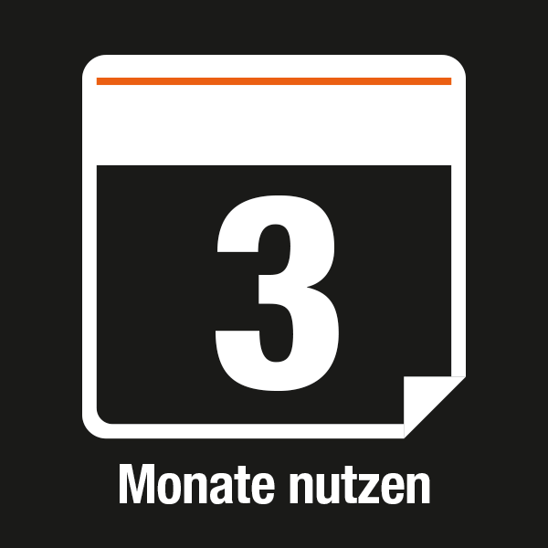 [Translate to en_DE:] 3 Monate nutzen